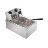 5 Star Chef Deep Fryer W/ Single Basket