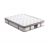 Latex Euro Top Pocket Spring Mattress Back Support Queen