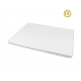 Visco Elastic Memory Foam Mattress Topper 5cm Thick Double