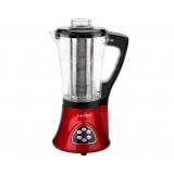 5 Star Chef Soup Blender Maker Juicer Mixer Red