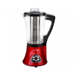 5 Star Chef Soup Blender Maker Juicer Mixer Red