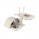 Cat Scratching Poles Post Furniture Tree House Beige
