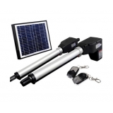 Solar Powered Double Swing Auto Motor Remote Gate Opener