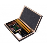 Gun Cleaning Kit Case w/ Brush Set
