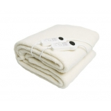 Double Fleecy Underlay Fitted Electric Blanket w/ Dual 9 Heat Settings