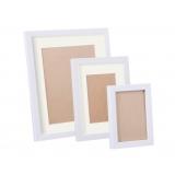 17 pcs Photo Frames Set Wall White