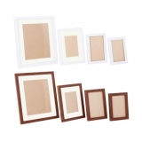 26 pcs Photo Frames Set Wall Mix Colour