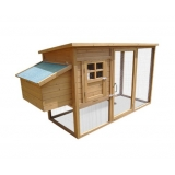 Deluxe Rabbit Hutch Chicken Coop with Nesting Box