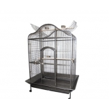 Large Parrot Aviary Bird Cage with Open Roof 183cm