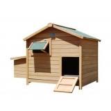 Deluxe Roomy Chicken Coop