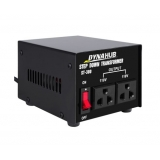 240v 110v Stepdown Transformer Converter 300w Black