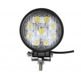 Round Spot LED and Flood LED Work Lamp 27W