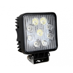 Square Spot LED and Flood LED Work Lamp 27W