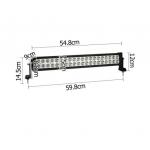 2 in 1 Epistar Heavy Duty LED Work Lamp 120W