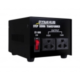 240v 110v Stepdown Transformer Converter 500w Black