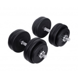 30kg Fitness Gym Exercise Dumbbell Set
