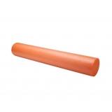 Yoga Gym Pilates EPE Physio Foam Roller Orange 90x15cm