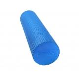 Yoga Gym Pilates EVA Physio Foam Roller Blue 45x15cm
