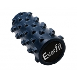 Yoga Gym Pilates EVA Rumble Foam Roller Blue 32x13cm