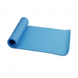 Yoga Gym Pilates NBR Form Mat Blue 10mm Thick