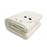King Fleecy Underlay Fitted Electric Blanket w/ Dual 9 Heat Settings