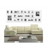 20 pcs Photo Frames Set Wall White