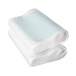 2 x Cool Gel Top Memory Foam Pillow