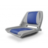 Swivel Folding Marine Boat Seats Grey Blue