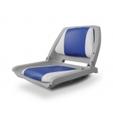 Swivel Folding Marine Boat Seats White Blue