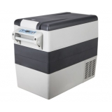 Portable Cooler Fridge Freezer Grey 52L