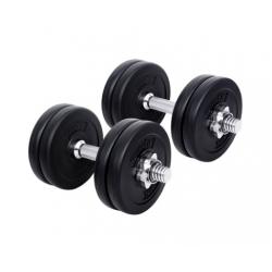 15kg Fitness Gym Exercise Dumbbell Set