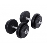 20kg Fitness Gym Exercise Dumbbell Set