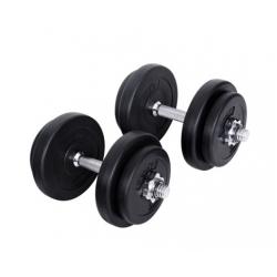 20kg Fitness Gym Exercise Dumbbell Set