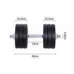 35kg Fitness Gym Exercise Dumbbell Set