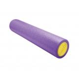 Yoga Gym Pilates EPE Physio Foam Roller Purple 60x15cm