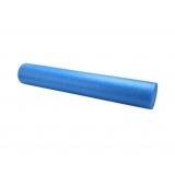 Yoga Gym Pilates EPE Physio Foam Roller Blue 90x15cm