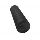 Yoga Gym Pilates EPE Physio Foam Roller Black 90x15cm