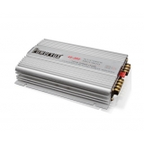 New PowerVox 2800 Watt 4 Channel Car Amplifier Silver