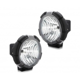 2 x Ultra Bright 7 Inch HID Euro Driving Lights 55W