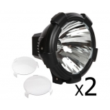 2 x 9 Inch HID Spiral Spot Driving Light 100 W