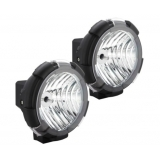 2 x Ultra Bright 9 Inch HID Euro Driving Lights 55W
