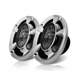 Set of 2 MaxTurbo Car Speakers w/ LED Light 1000W