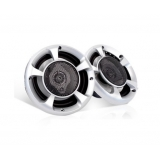 Set of 2 MaxTurbo Car Speakers w/ LED Light 500W