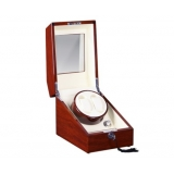 Automatic Watch Winder with Single Motors & 3 Watches Storage Red