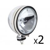 2 x Ultra Bright 6 Inch HID Driving Lights 55W