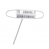BBQ Branding Iron Set with Changeable Letters