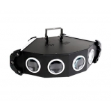4 Head LED MoonFlower Effect Disco Party DJ Light DMX C