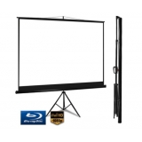 Compact Projection Projector Tripod TV Screen 4:3 100 inch
