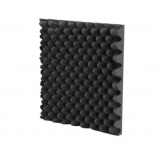 Studio Eggshell Acoustic Foam Black