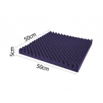 Studio 6 Eggshell Acoustic Foam Purple 50x50cm